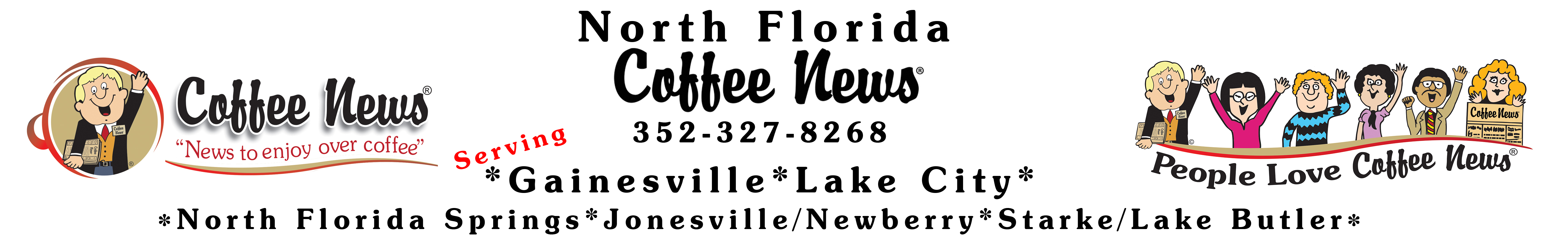 North Florida Coffee News Logo